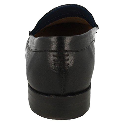 Barker Slip Calf Buffalo Black Jack Mens On Schuhe Szn0Sqd
