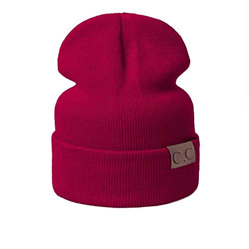 Price comparison product image Nutsima 2018 Children Hat for Girls Winter Baby Hat for Boys Beanies Knitted Baby Cap for Girls / Boys Kids Thick Hat Shipping, Cc Wine