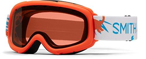 Smith Optics Sidekick Youth Junior Snowmobile Goggles Neon Orange Dinos / - Kids Oakley Goggles