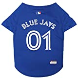 Pets First MLB Toronto Blue Jays PET Apparel. - Licensed Baseball Jerseys for Dogs & Cats … (X-Large)