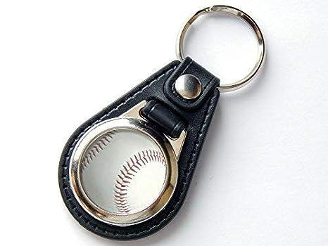 Moody Motorz Baseball - Llavero (Piel y Cromo): Amazon.es ...