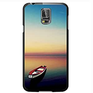 It's the Simple Things Canoe on Peaceful Beach Hard Snap on Phone Case (Galaxy s5 V)