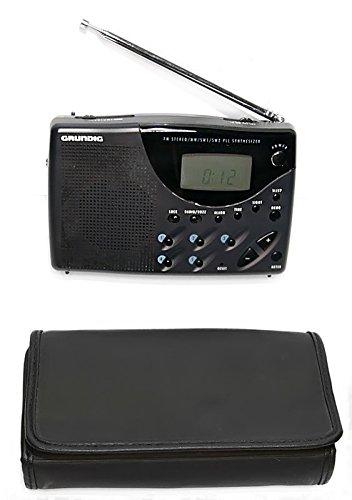 - Grundig TR II Black Digital AM FM Stereo Shortwave Radio