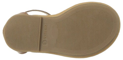 Carter's Girls' Chary Fashion Sandal, Brown, 9 M US Toddler by Carter's (Image #3)