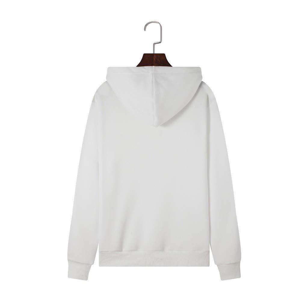 OUICE Femme Sweat A Capuche Pas Cher Manches Longues Brillant A L/èvres Impression Cordon Serrage Automne Et Hiver Tops Blouse Sweatshirt