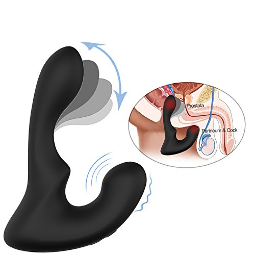 Tracy's Dog Vibrating Prostate Massager with 9 Stimulation Patterns Anal Plug Vibrator for Male Orgasms