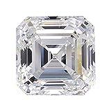 Diamond Veneer Cubic Zirconia Intensely Radiant Asscher Cut Loose Stone, Clear (10ct.)