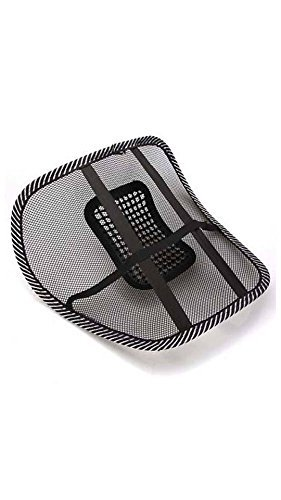 Generic (unbranded) CBRNE Mesh Ventilation Back Rest with Lumbar Support