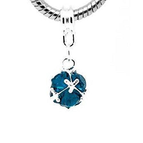 Choose Your Birthstone Charm or Snake Chain Bracelet…