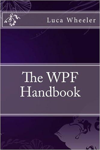 The WPF Handbook: Luca Wheeler: 9781532934162: Amazon com: Books