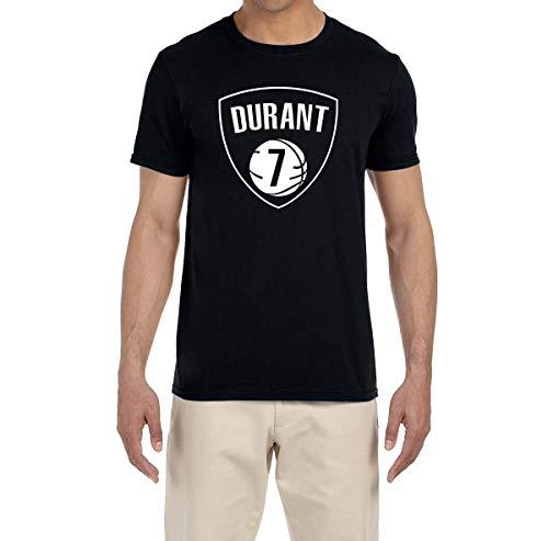 Kevin Durant T-shirt - Tobin Clothing Black Brooklyn Durant Logo T-Shirt Adult 2XL