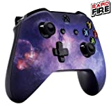 Xbox One Soft Touch Custom Modded Rapid Fire Controller -Soft Shell for Comfort Grip X - Includes Largest Variety of Modes (Galaxy)