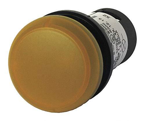 Eaton Raised Indicator Light 22mm Mounting Dia. Yellow C22-L-Y-24