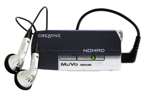- Creative Labs NOMAD MuVo 128 MB MP3 Player