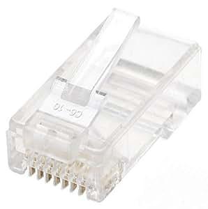 Intellinet 100 Pack Cat5E RJ45 Modular Plugs Standard (790055)