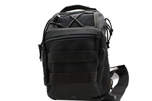Right Left Gun Pistol Concealment Pocket Holster Tactical Sling Cross Body Bag