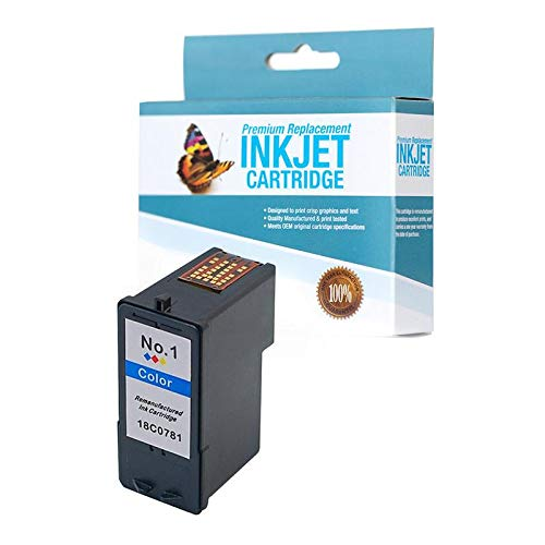 SuppliesOutlet Compatible Ink Cartridge Replacement for Lexmark 18C0781 (Color,1 Pack)