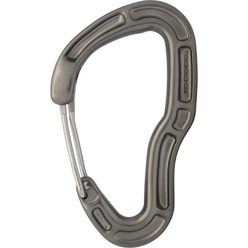 DMM Shield Clean Wire Carabiner - Titanium by DMM