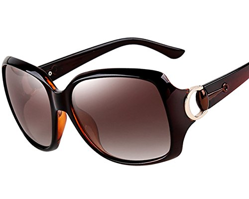 9c0f74dbeeac ATTCL® 2015 Oversized UV400 Protection Driving Polarized Sunglasses for  Women 3609 Brown - Buy Online in Oman. | attcl sunglasses Products in Oman  - See ...