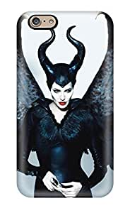 Cute Appearance Cover/tpu WPvnMsA1289gXkLR Angelina Jolie Maleficent Case For Iphone 6