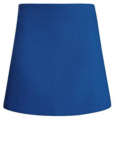 7500n oodji Femme Ultra Courte Bleu Jupe Trapze WAYAarqw
