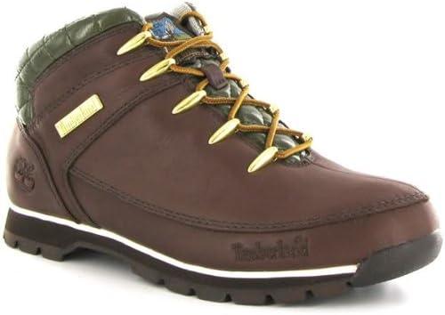 Motivación télex sensibilidad  Timberland Euro Sprint Chocolate Mens Boots Size 6: Amazon.co.uk: Shoes &  Bags