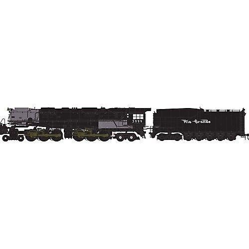 HO 4-6-6-4 w/DCC & Sound Coal Tender, UP #3999 by Athearn
