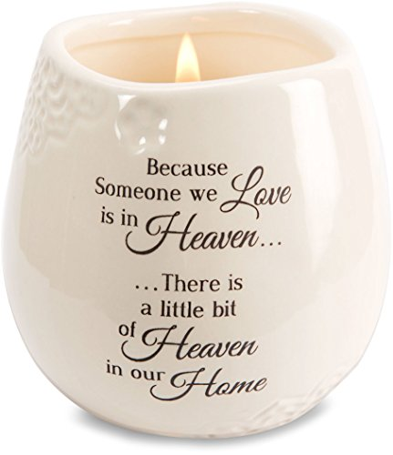 411YHr2x6PL - Light Your Way Memorial 19177 in Memory of Loved One Ceramic Soy Wax Candle