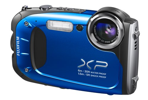 Fujifilm FinePix XP60 16.4MP Digital Camera with 2.7-Inch LCD (Blue) (Discontinued by Manufacturer) by Fujifilm (Image #4)