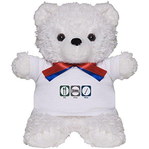 CafePress - Eat Sleep Oboe - Teddy Bear, Plush Stuffed Animal