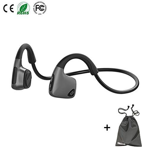 Bone Conduction Headphones Bluetooth Wireless Open Ear Headsets Lightweight Sweatproof Sport Headphones for...