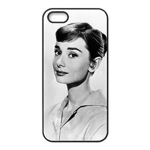 C-EUR Diy Audrey Hepburn Hard Back Case for Iphone 5 5g 5s