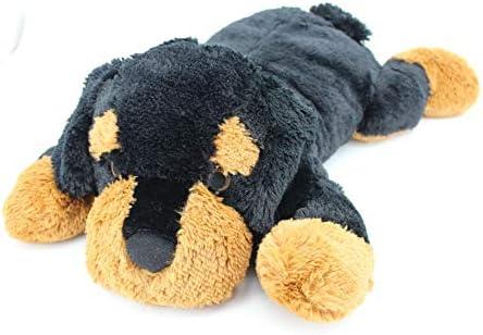Sweety Toys 5512 XXL Riesen Rottweiler Plüschhund - ca. 80 cm groß - Kuschelhund Teddybär Plüschtier Plüsch Plüschbär Sweety-Toys
