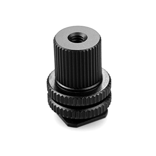 SMALLRIG 1/4-20 Tripod Mount Screw Male and Female to Flash Camera Hot Shoe Adapter - 1562
