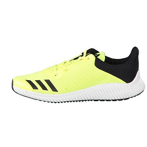 adidas Kinder Sportschuhe FortaRun K solar yellow/ftwr white/core black 29