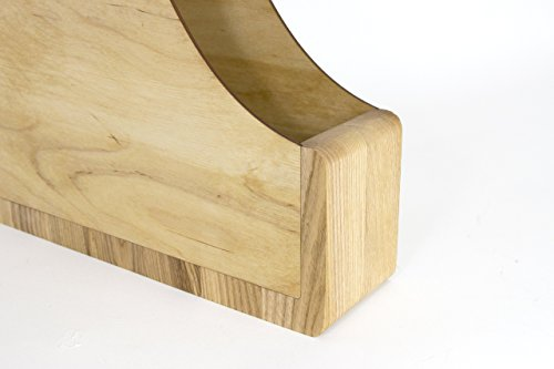 Paper Storage Desk, Desk Organizer Wood, Paper Storage, File Organizer, Magazines Holder, Magazines Rack, Paper Storage Wood, Paper Sorter by Promi Design (Image #4)