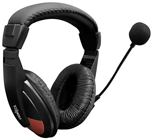 Frontech Jil 3442 Headset with Mic  Black