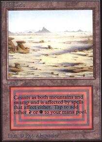 Magic: the Gathering - Badlands - Unlimited by Magic: the Gathering
