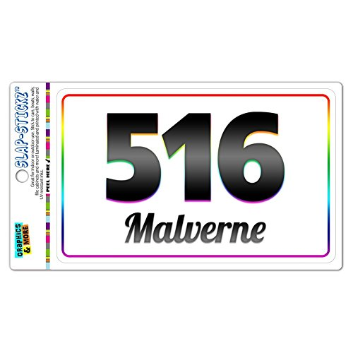 area-code-rainbow-window-laminated-sticker-516-new-york-ny-albertson-seaford-malverne