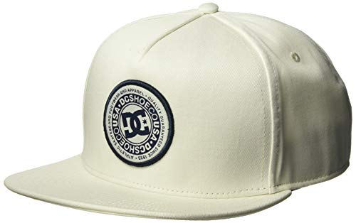 DC Men's CRESTY Snapback Trucker HAT, Antique/White, 1SZ