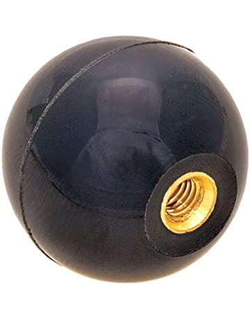 """Ball Knob 1-7//8/"""" OD fits 5//8/"""" Handles controls levers lathes  tractor hydraulics"""