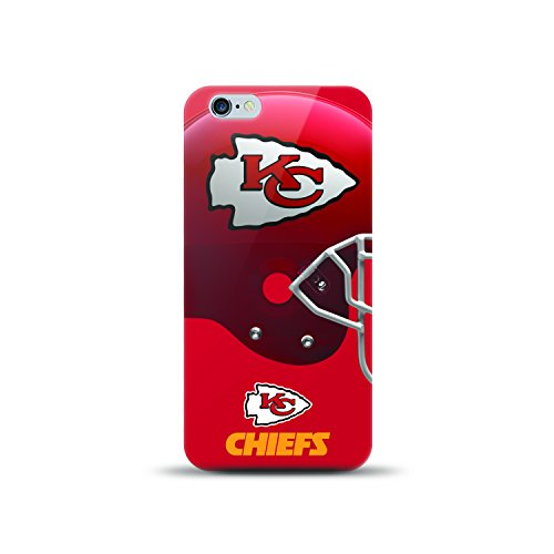 (MIZCO SPORTS iPhone 8 Plus/7 Plus Helmet Series Case - NFL Kansas City Chiefs)