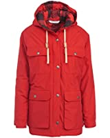 Woolrich Women's Advisory Wool Insulated Mountain Parka, Old Red, Large
