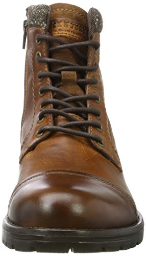 para Cognac Leather Jack Botas Marrón Jfwmarly Hombre Cognac Clasicas amp; Jones wB0g4