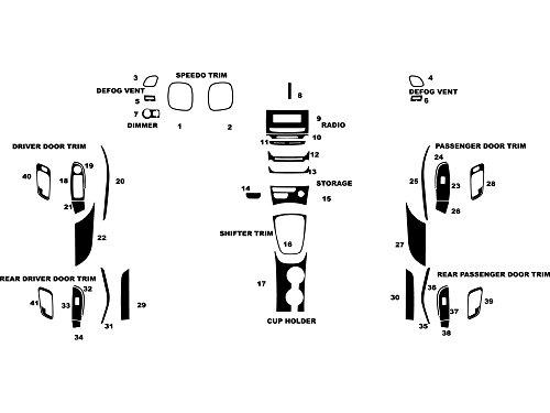 2014 chevy malibu dash trim kit - 2