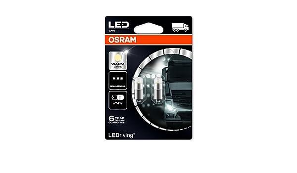 7b535196a68 Amazon.com  Osram 3924WW-02B LEDriving LED Retrofit T4W 24V Interior  Lights