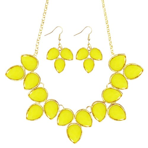 Wrapables Bubble Statement Necklace Earring