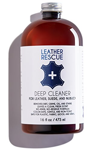Leather Rescue Deep Cleaner for Leather, Suede, and - Wash Jacket Suede