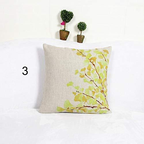 Amazon.com: Creative Red Tree Decorative Cushion Cover Throw ...