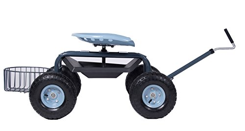 Gardien Scoot N Steer Rolling Garden Seat With
